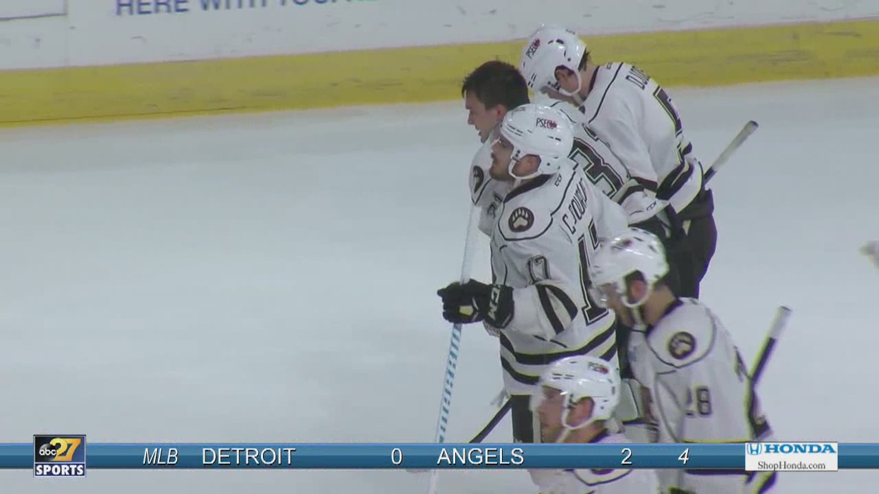 Copley injured, Providence evens series at two