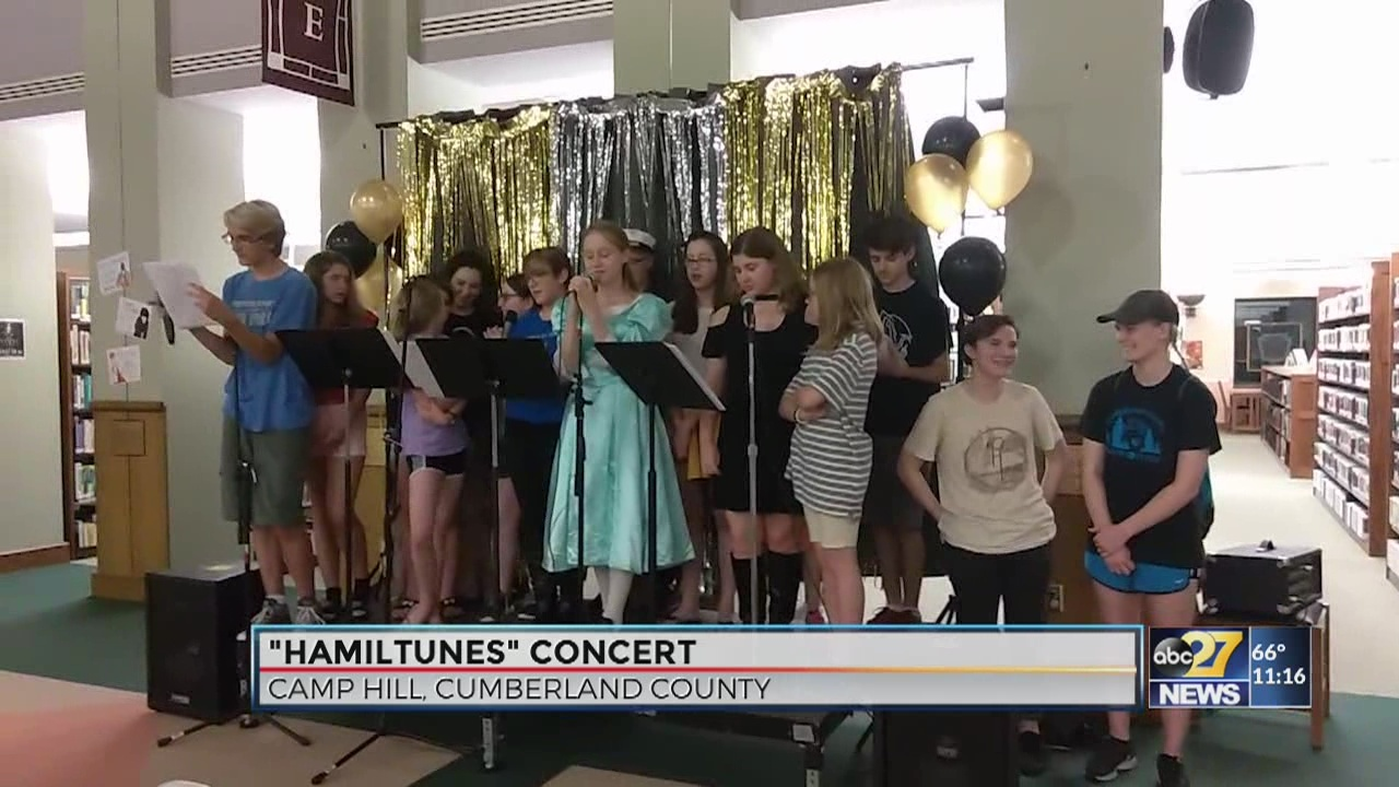 'Hamilton' creator gives a Twitter shoutout to Camp Hill singers