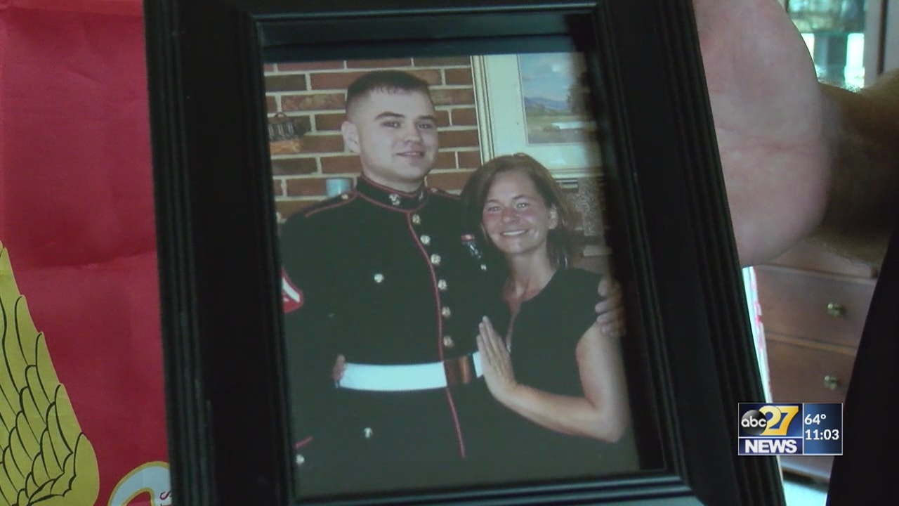 York family remembers 22-year-old Marine, athlete who died at practice