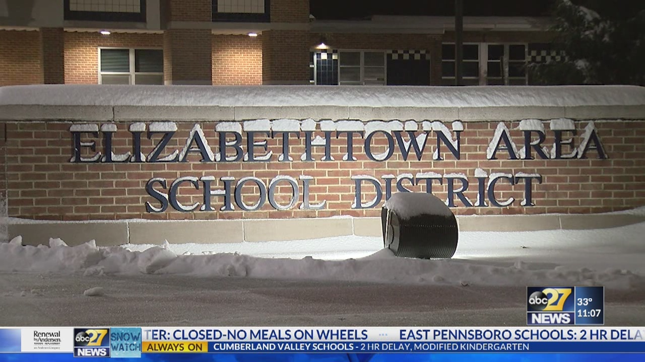 Elizabethtown students returned to schools after wintry