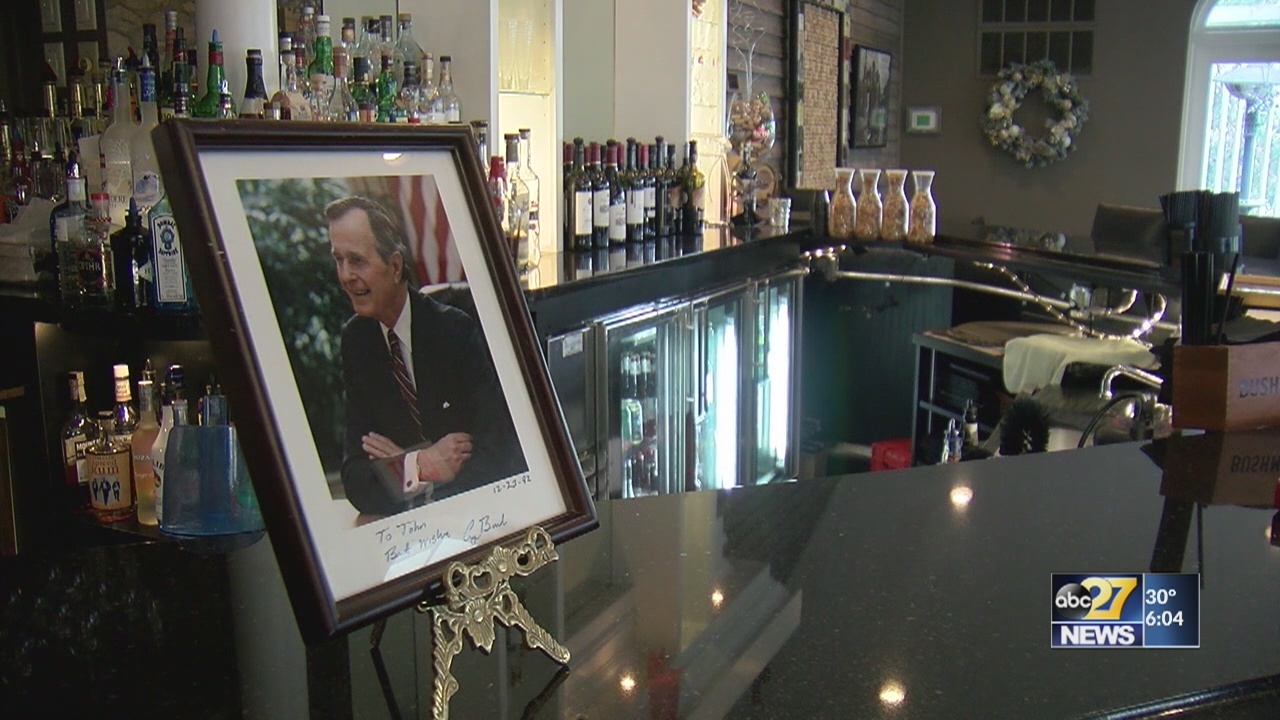 Lancaster chef who served in White House has fond memories of George HW Bush
