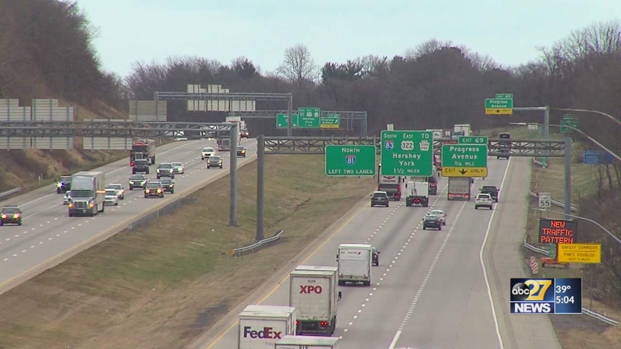 PennDOT's vision for I-81 has 6 lanes for nearly 90 miles
