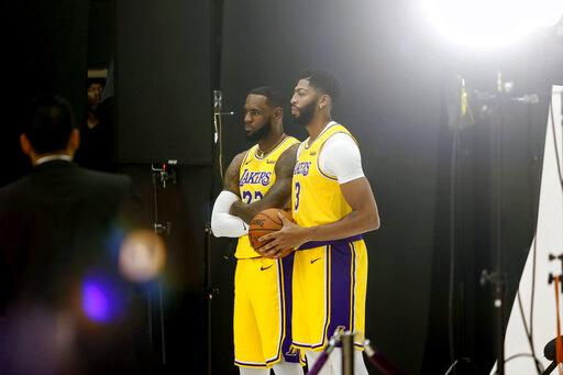 Lakers Start Season With Lebron Ad Already Sharing A Bond