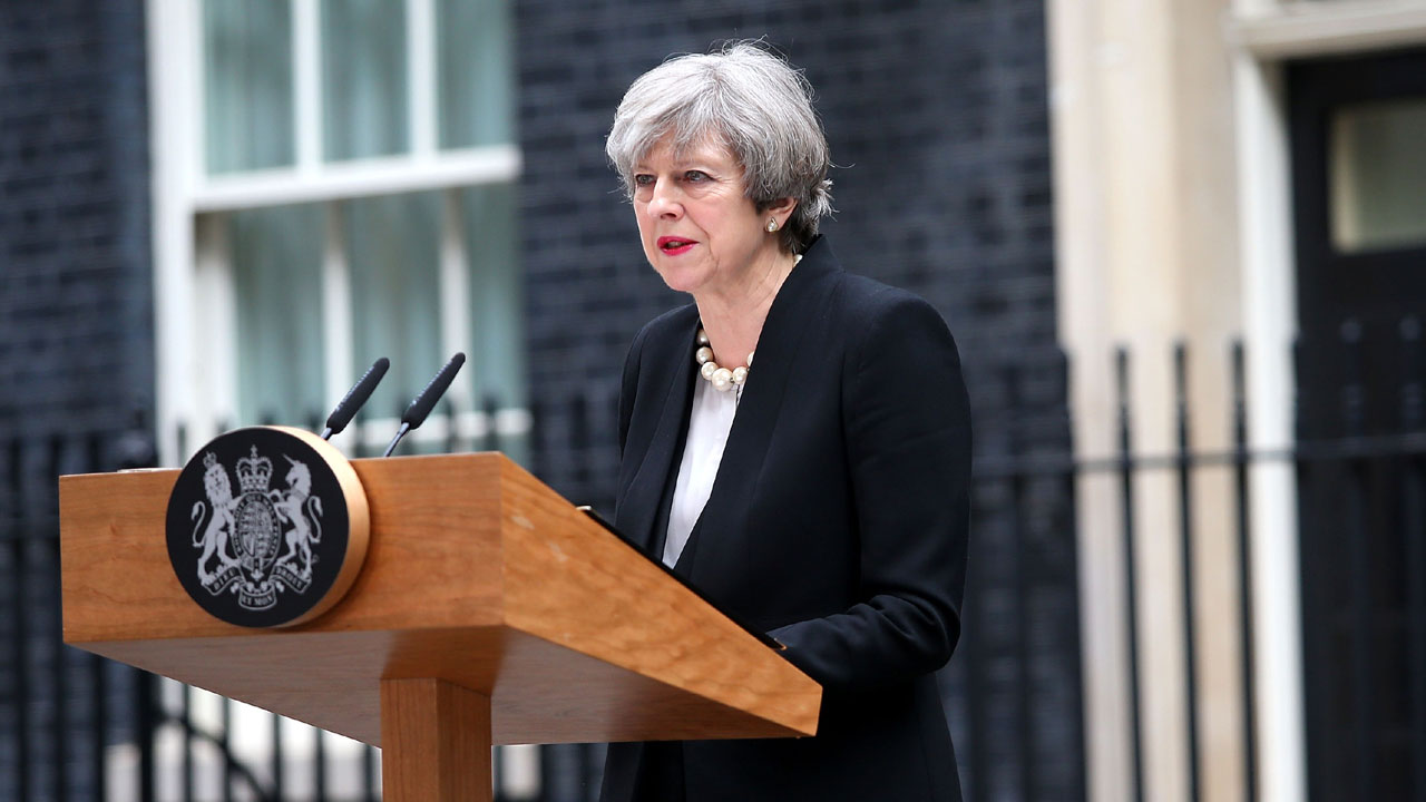 Theresa May speaks about Manchester attack01837877-159532