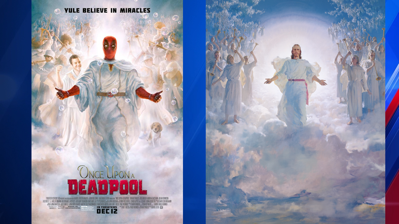 new deadpool movie poster