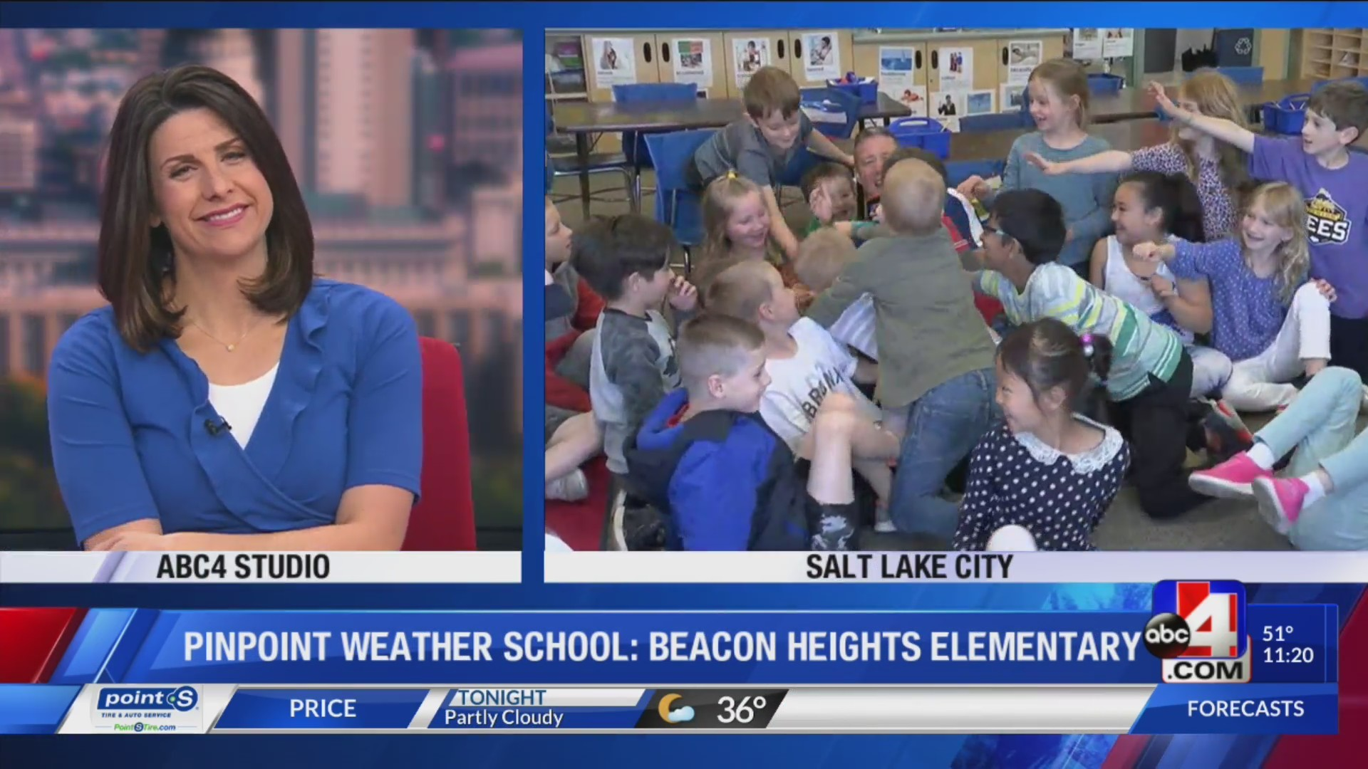 Beacon Heights Elementary Weather School