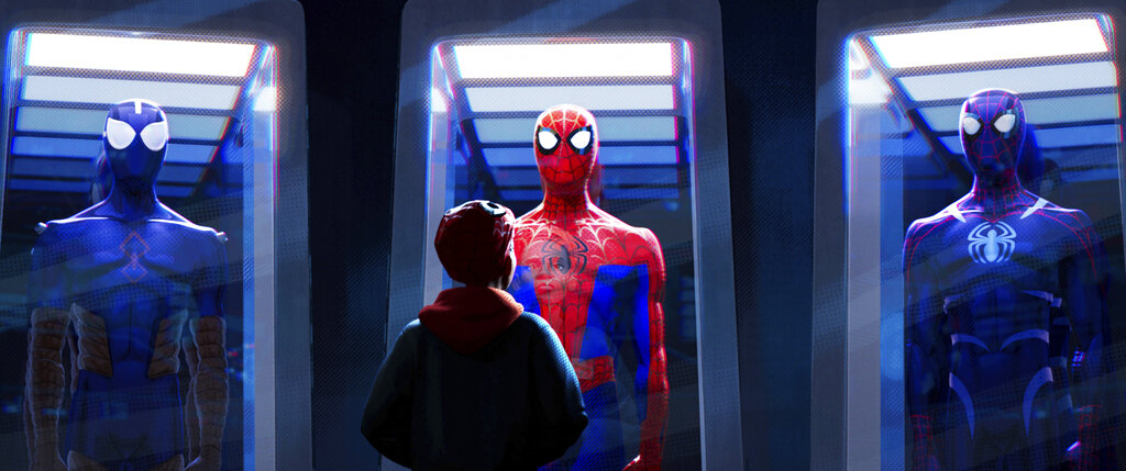 Картинки по запросу 'Spider-Man: Into the Spider-Verse' Sequel Swings Its Way to 2022