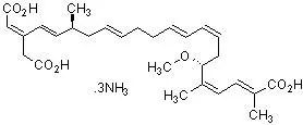 Bongkrekic Acid, Triammonium Salt (CAS 11076-19-0) 98%