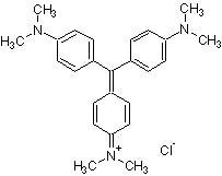 Crystal violet, Cation-based violet dye (CAS 548-62-9