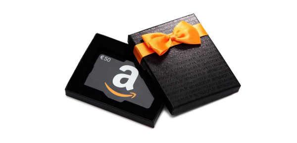 Chèque cadeau Amazon