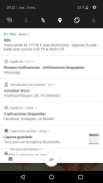 avis n26 compte notification