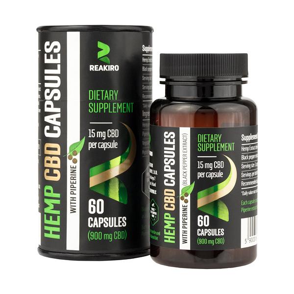 Hemp CBD Capsules 900 mg