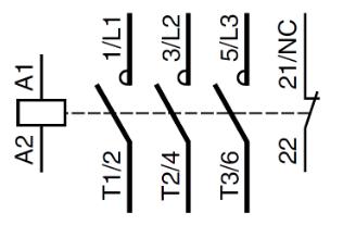 Le contacteur electrique ~ التكنولوجيا التطبيقية
