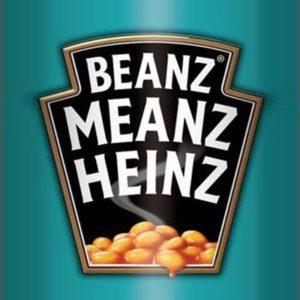 Beanz Meanz Heinz slogan