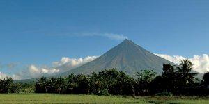 Mount Mayon Volcano February 2013