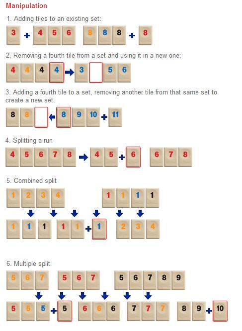 Rummikub The Numbers Game Abc Diamond