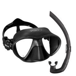 Freediving mask+snorkel