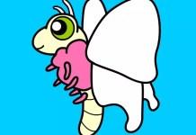 A borboleta branca