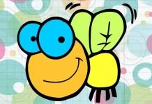 A mosca que mora na teia