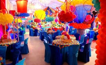 Organize uma festa para crianças divertida e saudável