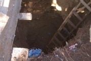 the pit at Makomu SS toilet