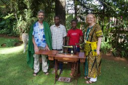 Delivina completed Vocational Training in Tailoring.