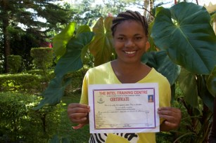 Epifania completed secondary school. Completed Certificate in Tourism and Guiding and will aim at the Diploma next.