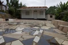 tiled driveway