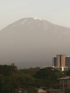My. Kilimanjaro from Moshi