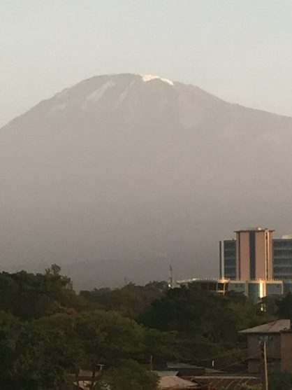 My. Kilimanjaro from Moshi