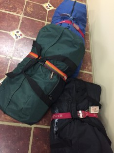 3 of our 8 bags