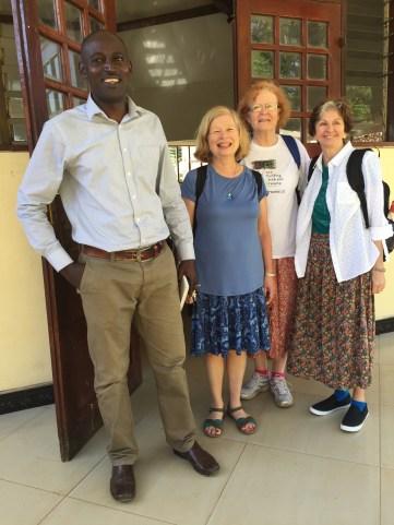 Headmaster, Jackie. Lynn and Susan