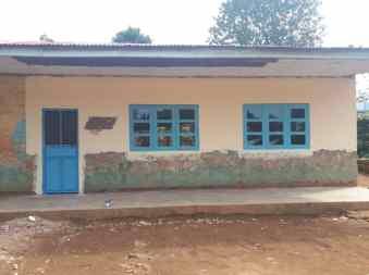 full classroom door and windows