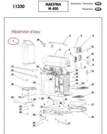 Catégorie Accessoire machine à café du guide et