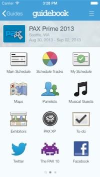 media guide app, Guidebook
