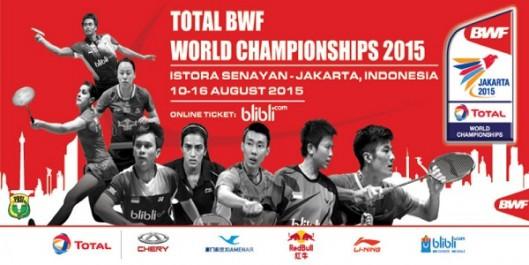 TOTAL BWF World Championships 2015