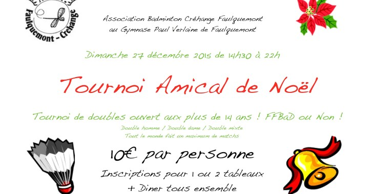 Tournoi Amical de Noël