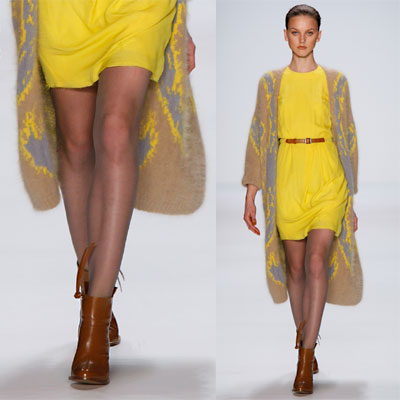 las principales tendencias de la moda otoño-invierno 2011/2012: la mezcla de corto / largo