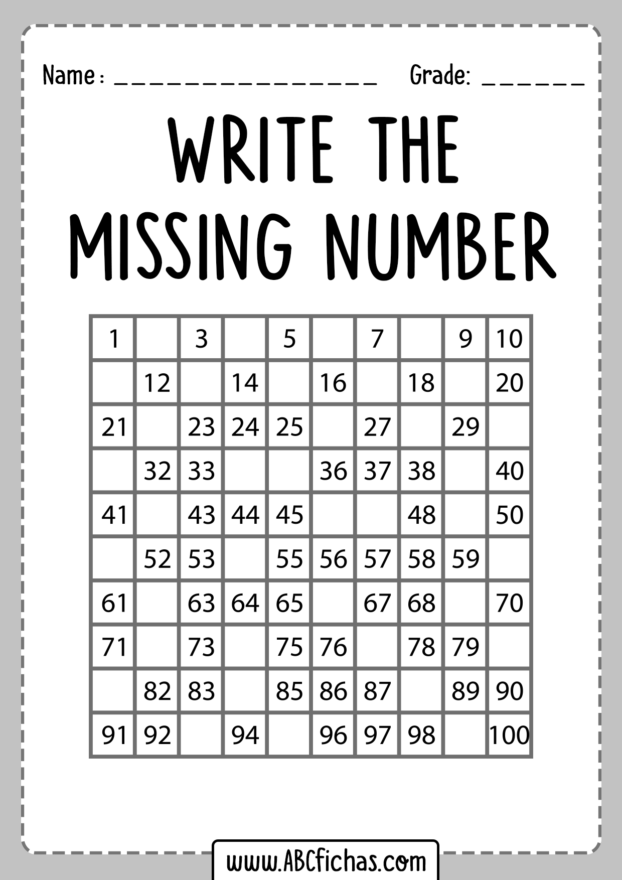 hight resolution of Jungle Numbers And Abc Worksheets   Printable Worksheets and Activities for  Teachers