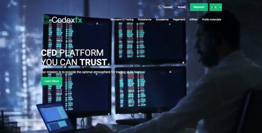 CodexFx Opinioni e Recensioni [2019] Broker Forex