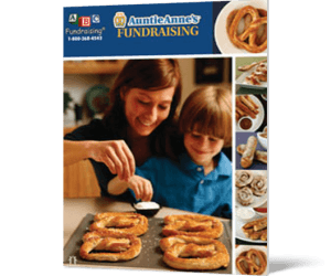 Auntie Anne's Pretzel Fundraiser - great for youth fundraising
