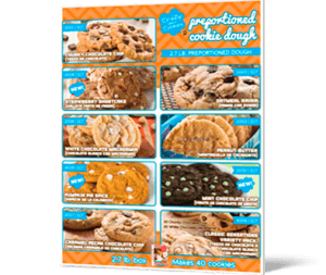 Cookie Dough for an American Legion Fundraiser