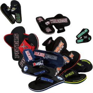 Custom Flip Flop Fundraiser