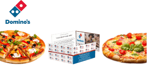 Domino's Pizza Card