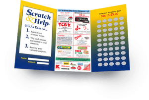 Scratch Card Fundraiser For American Legion Fundraising
