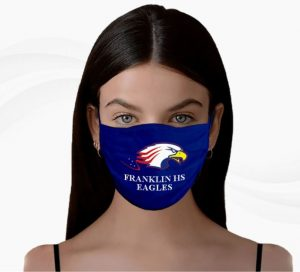 School LOGO Face Masks