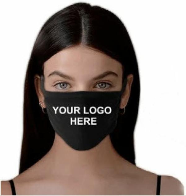 Wholesale Company Branded Logo Face Mask