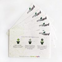 eco-card carta semi abc gadgets web