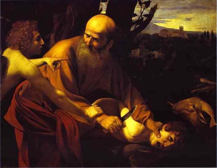 Caravaggio. The Sacrifice of Isaac.
