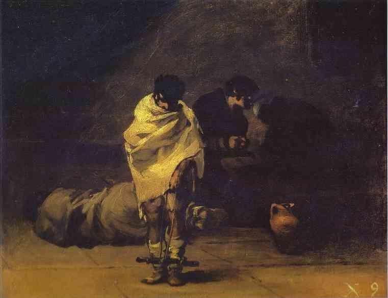 Francisco de Goya Prison Scene